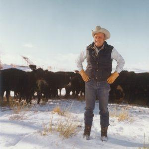 Ol Jim n cows